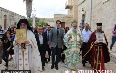 Η εορτή του Αγίου Γεωργίου στα Ιεροσόλυμα (ΦΩΤΟ)