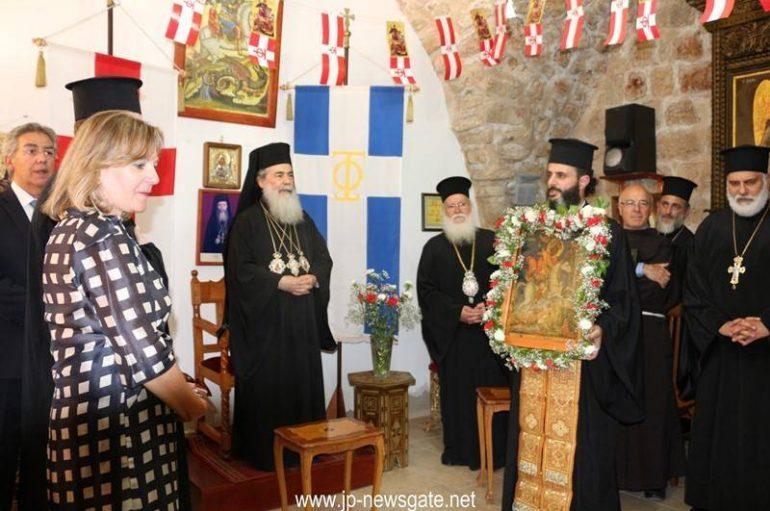 Η εορτή του Αγίου Γεωργίου στα Ιεροσόλυμα (ΦΩΤΟ – ΒΙΝΤΕΟ)