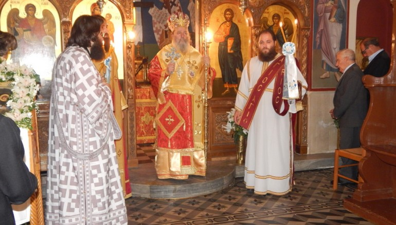 Η εορτή του Αγίου Ιωάννου του Θεολόγου στην Ι. Μ. Πατρών (ΦΩΤΟ)