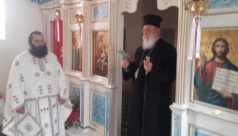 Η εορτή των Αγ. Κωνσταντίνου και Ἑλένης στο χωριό του Μητροπολίτη Μαντινείας (ΦΩΤΟ)