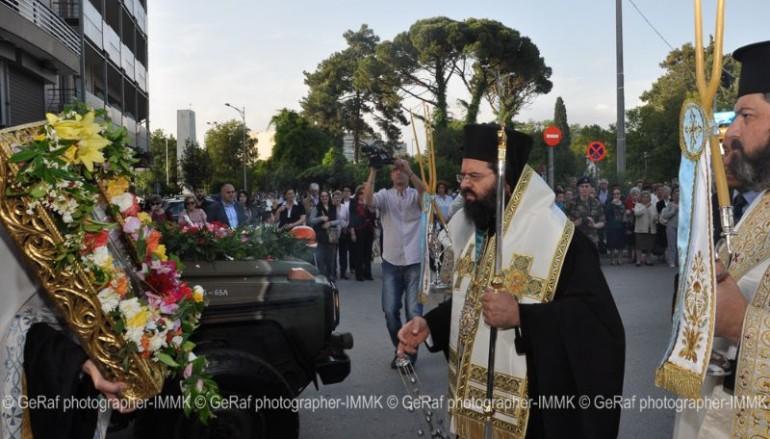 Υποδοχή της Παναγίας Φανερωμένης στην Κομοτηνή (ΦΩΤΟ)