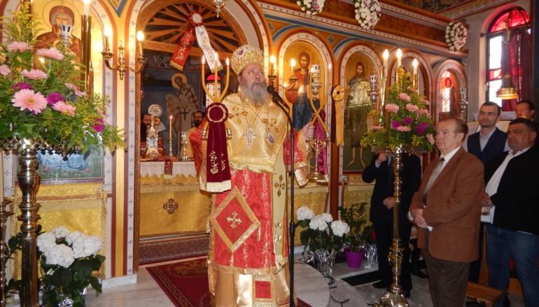 Η εορτή της Αγίας Ειρήνης στην Ι. Μ. Πατρών (ΦΩΤΟ)