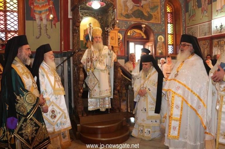Ο Πατριάρχης Ιεροσολύμων προεξήρχε της εορτής της Κανά της Γαλιλαίας (ΦΩΤΟ – ΒΙΝΤΕΟ)
