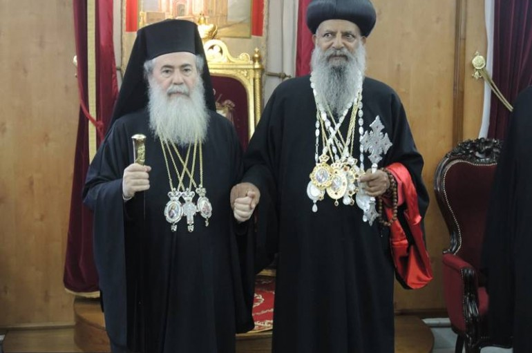 Ο Πατριάρχης της Αιθιοπικής Εκκλησίας στον Πατριάρχη Ιεροσολύμων (ΦΩΤΟ – ΒΙΝΤΕΟ)