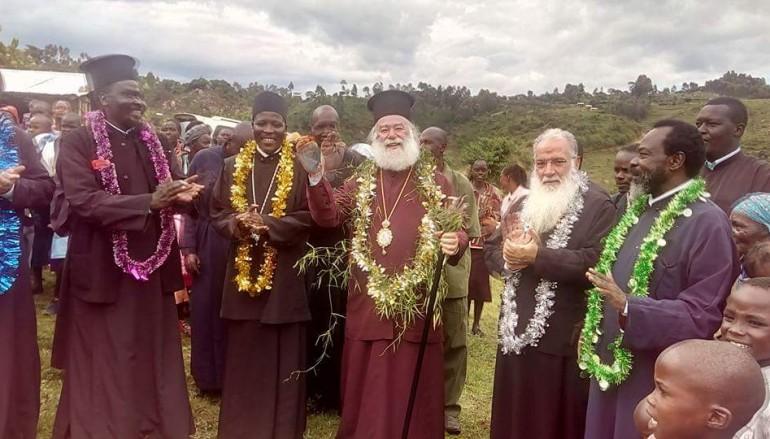 Ο Πατριάρχης Αλεξανδρείας περιοδεύει στη Δυτική Κένυα (ΦΩΤΟ)