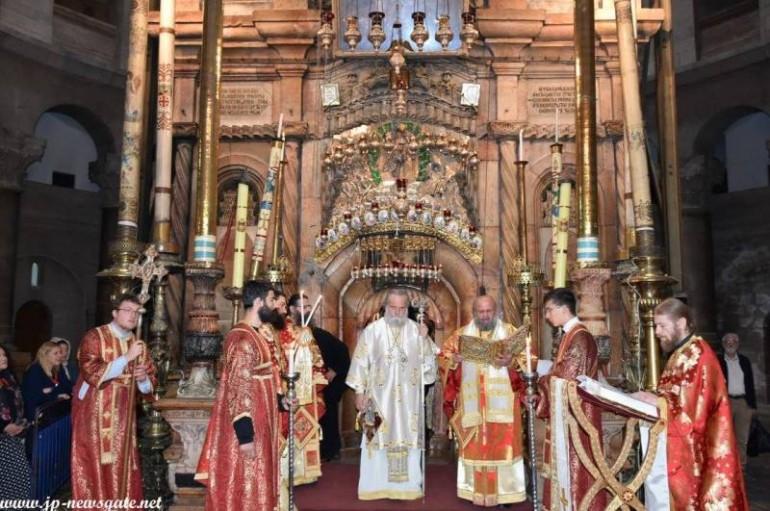 Η Κυριακή του Θωμά στο Πατριαρχείο Ιεροσολύμων (ΦΩΤΟ – ΒΙΝΤΕΟ)
