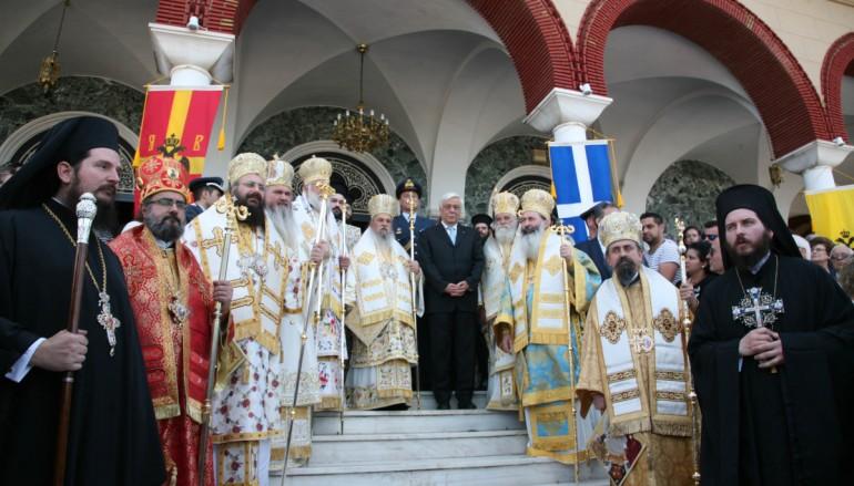 Η Λάρισα τίμησε τον Άγιο Αχίλλιο παρουσία του Προέδρου της Δημοκρατίας (ΦΩΤΟ)