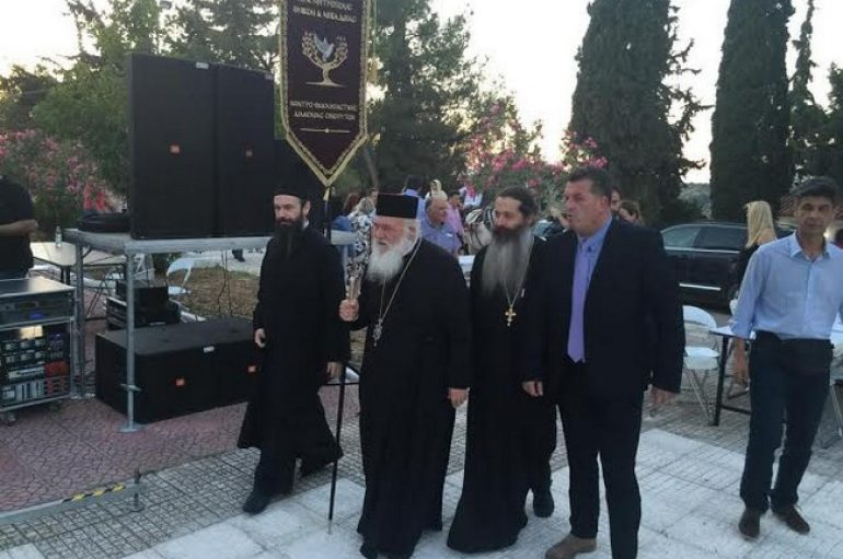 Παρουσία του Αρχιεπισκόπου το 2ο Αρβανίτικο Αντάμωμα (ΦΩΤΟ)