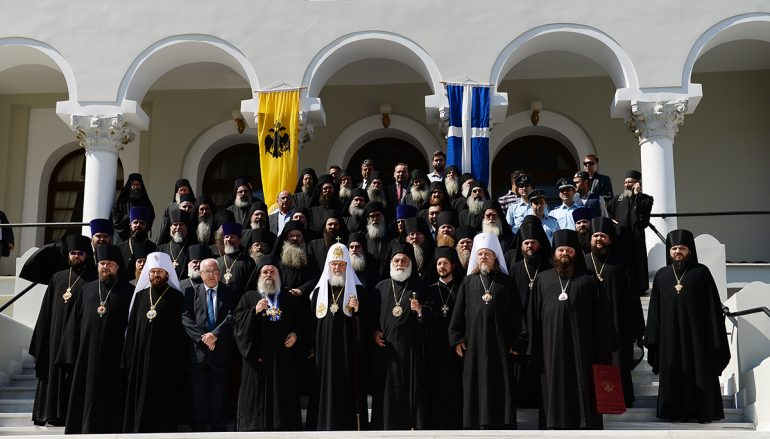 Στο Άγιον Όρος ο Πατριάρχης Μόσχας Κύριλλος (ΦΩΤΟ)