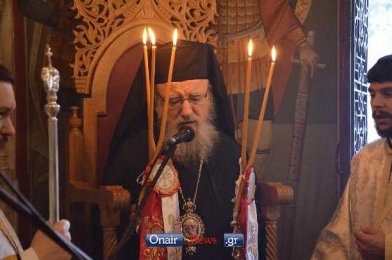 Αρχιερατικός Εσπερινός στην Παναγία της Ελεούσας στην Κλεισούρα (ΦΩΤΟ)