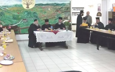 Η πρώτη Ιερατική Σύναξη στην Ι. Μ. Καρπενησίου