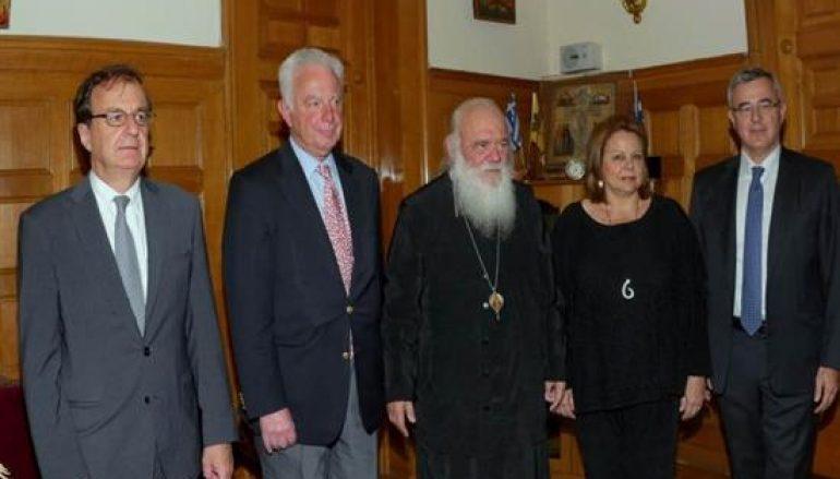 Συνάντηση του Αρχιεπισκόπου Ιερώνυμου με αντιπροσωπεία του ΟΠΕΜΕΔ