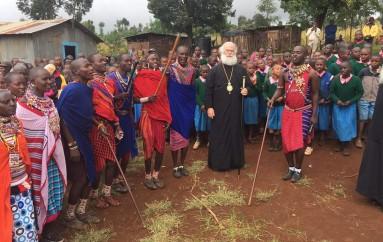 Ο Πατριάρχης Αλεξανδρείας στους Ορθοδόξους Χριστιανούς της φυλής των Μασάι (ΦΩΤΟ)