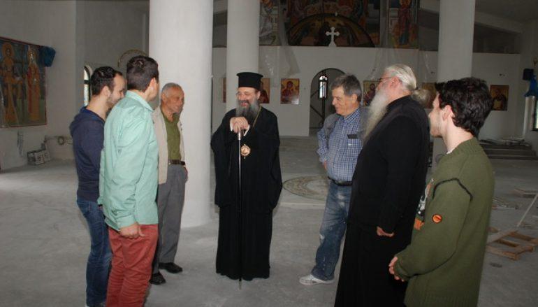 Ξεκίνησαν εργασίες σε δύο Ιερούς Ναούς της Ι. Μ. Πατρών (ΦΩΤΟ)