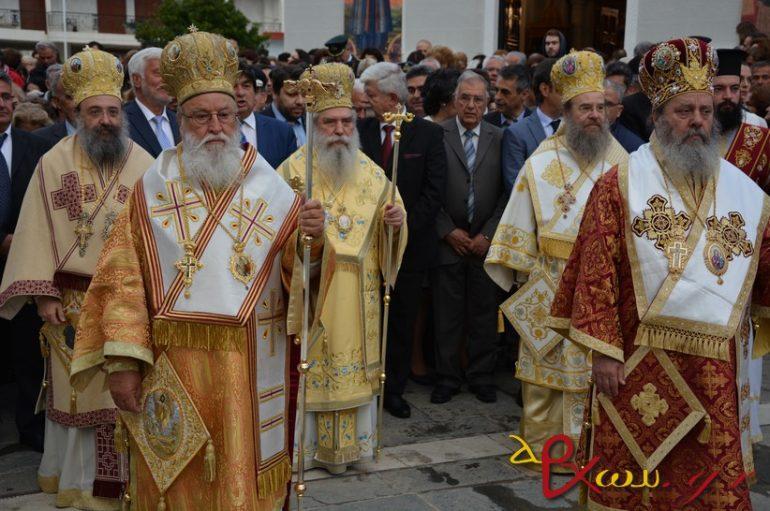 Η Τρίπολη υποκλίθηκε στους Πολιούχους της Νεομάρτυρες Δημήτριο και Παύλο (ΦΩΤΟ)