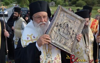 Το Μερκοβούνι Τρίπολης υποδέχθηκε την Παναγία Μαλεβή (ΦΩΤΟ – ΒΙΝΤΕΟ)