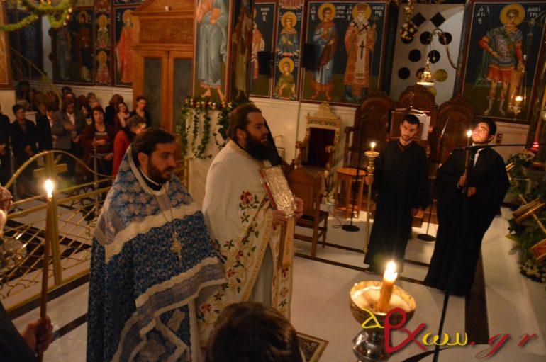 Ιερά Αγρυπνία για την Παναγία Μαλεβή στο Μερκοβούνι Τρίπολης (ΦΩΤΟ)
