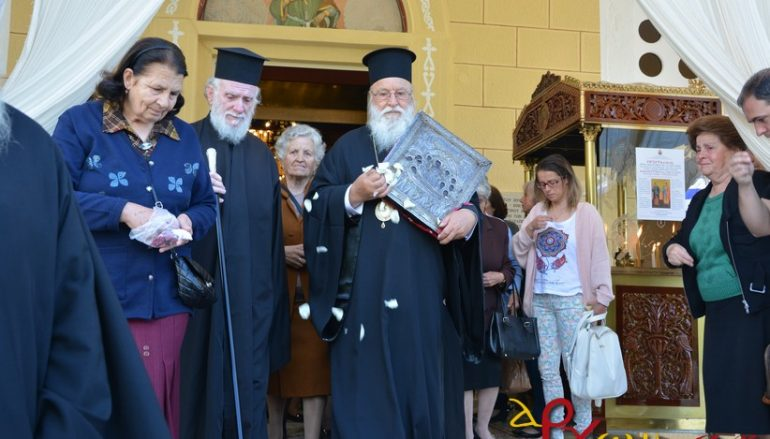 Το Μερκοβούνι Τρίπολης ξεπροβόδισε την Παναγία Μαλεβή (ΦΩΤΟ)