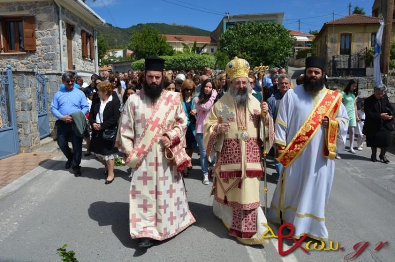 Λαμπρός ο εορτασμός του Νεομάρτυρος Δημητρίου στο Μερκοβούνι (ΦΩΤΟ – ΒΙΝΤΕΟ)