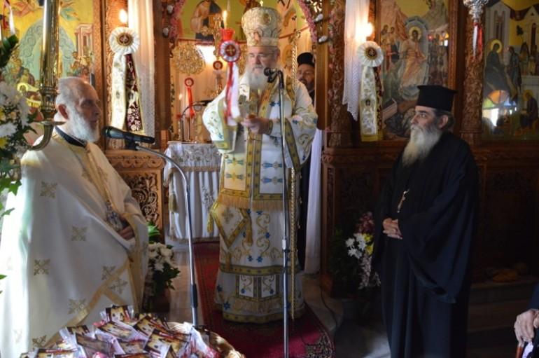 Ο εορτασμός των Αγίων Ραφαήλ, Νικολάου και Ειρήνης στην Ι. Μ. Κυδωνίας (ΦΩΤΟ)