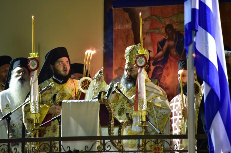 Η Ανάσταση του Χριστού στην Ι. Μ. Λαγκαδά (ΦΩΤΟ)