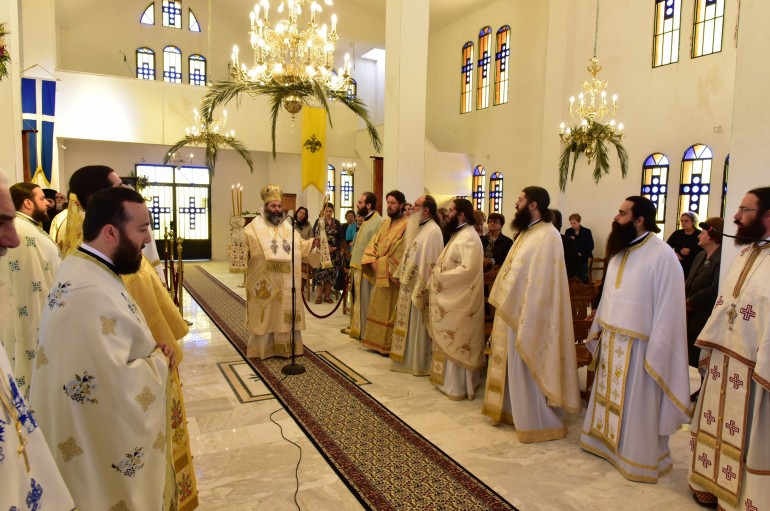 Θεία Λειτουργία από το Μητροπολίτη Λαγκαδά για τα έξι έτη Αρχιερατείας του (ΦΩΤΟ)