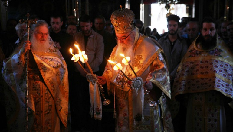 Ο Μητροπολίτης Καστορίας στην Ιερά Μονή Βατοπαιδίου (ΦΩΤΟ)