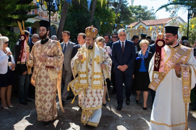 Η Κορώνη εόρτασε την πολιούχο της Παναγία Ελεήστρια (ΦΩΤΟ – ΒΙΝΤΕΟ)