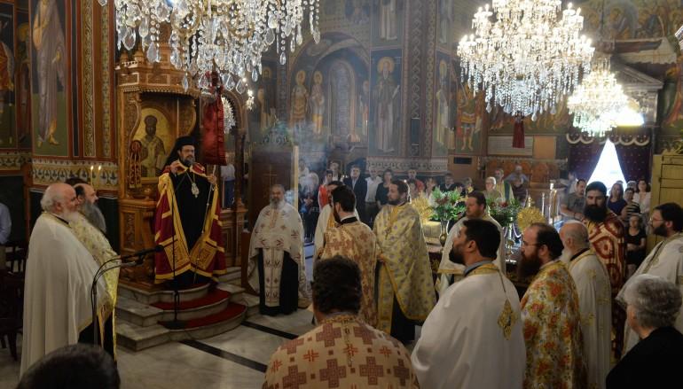 Εσπερινός στην Καλαμάτα για τους Μεσσηνίους Αγίους (ΦΩΤΟ)