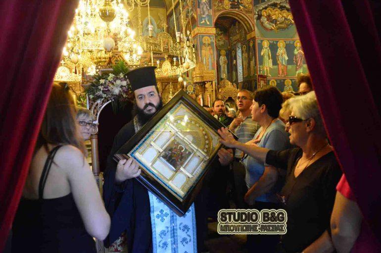 Αναχώρησε η εικόνα της Παναγίας Παντανάσσης από το Ναύπλιο (ΦΩΤΟ – ΒΙΝΤΕΟ)