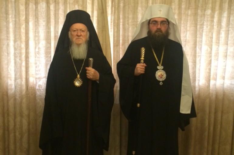 Συλλείτουργο Οικ. Πατριάρχη και νέου Αρχιεπισκόπου Τσεχίας