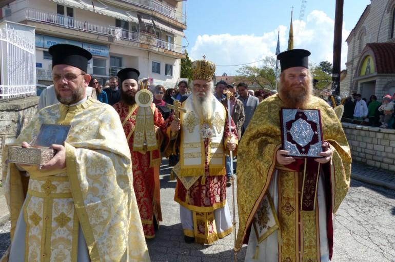 Την Παναγία της Γράμμουστας τίμησε η Ι. Μ. Καστορίας (ΦΩΤΟ – ΒΙΝΤΕΟ)