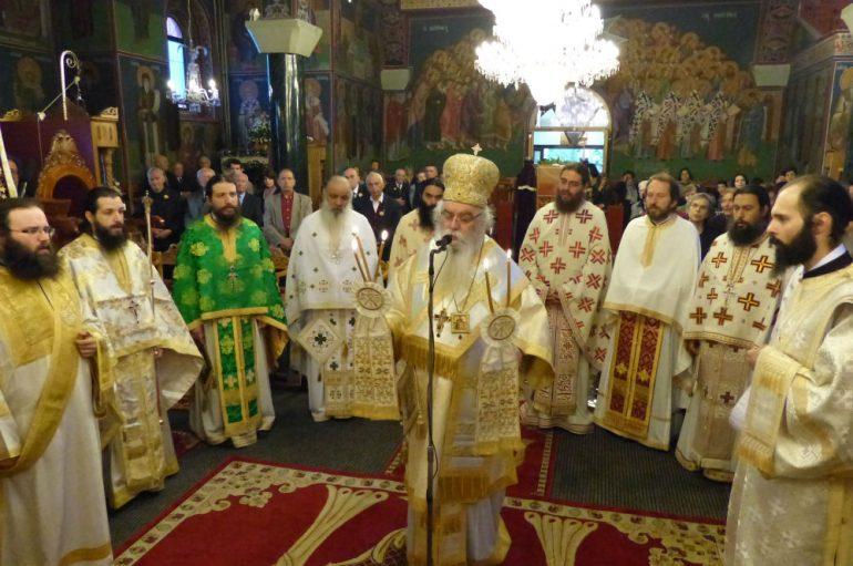 Λαμπρά εορτάστηκαν οι Άγιοι Κωνσταντίνος και Ελένη στην Καστοριά (ΦΩΤΟ)