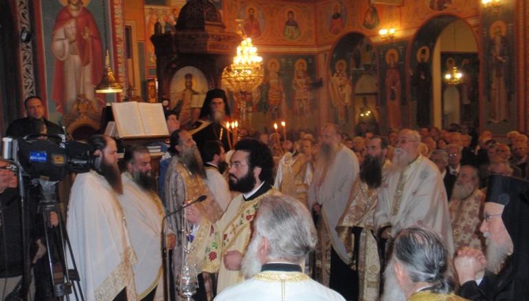 Πανηγυρικός εσπερινός στο Αγρίνιο για τον Άγιο Χριστόφορο (ΦΩΤΟ)