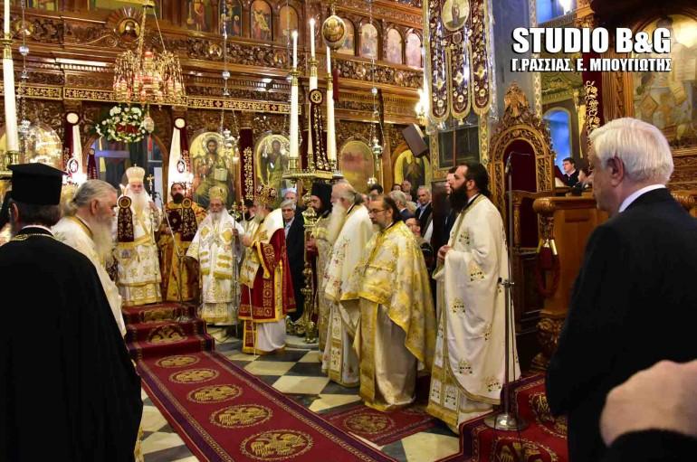 Παρουσία του Προέδρου της Δημοκρατίας η εορτή του Αγίου Πέτρου στο Άργος (ΦΩΤΟ – ΒΙΝΤΕΟ)