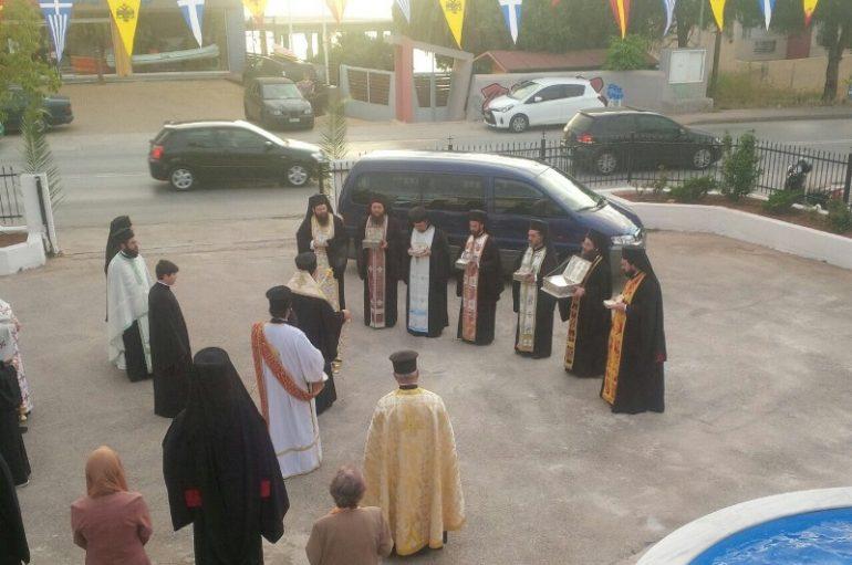 Η Χαλκίδα υποδέχθηκε Λείψανα των Ευβοέων Αγίων  (ΦΩΤΟ)