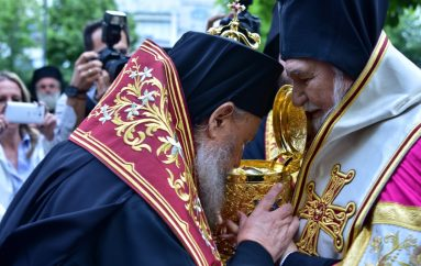 Η Λάρισα υποδέχθηκε Λείψανο του Αγίου Νικολάου από την Ιταλία (ΦΩΤΟ)