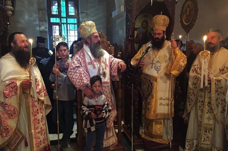 Η εορτή της Αγίας Ειρήνης στην ομώνυμη Ι. Μονή Ρεθύμνης (ΦΩΤΟ)