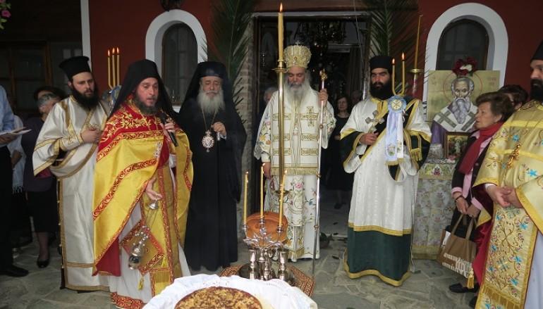 Με λαμπρότητα εορτάσθηκε ο Άγιος Επιφάνιος στην Κόμνηνα (ΦΩΤΟ)