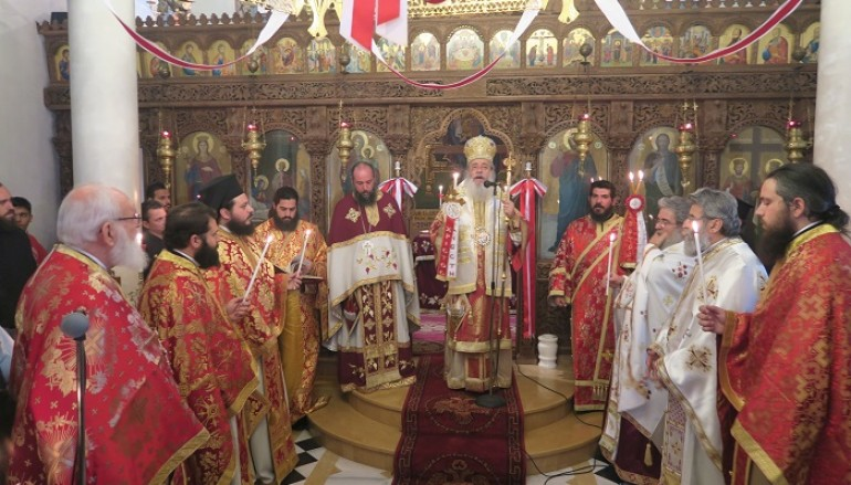 72 χρόνια από την ανατίναξη της Ιεράς Μονής Αντινίτσης (ΦΩΤΟ)