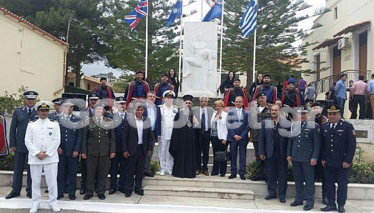 Ο εορτασμός της 75ης Επετείου της Μάχης της Κρήτης στο Ρέθυμνο (ΦΩΤΟ)