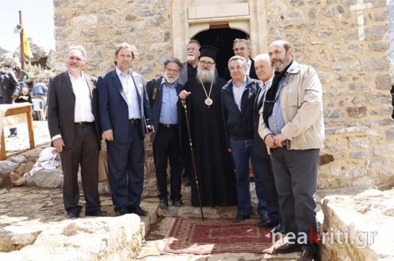 Θυρανοίξια σε Κρητικό μοναστήρι μετά από 600 χρόνια (ΦΩΤΟ)