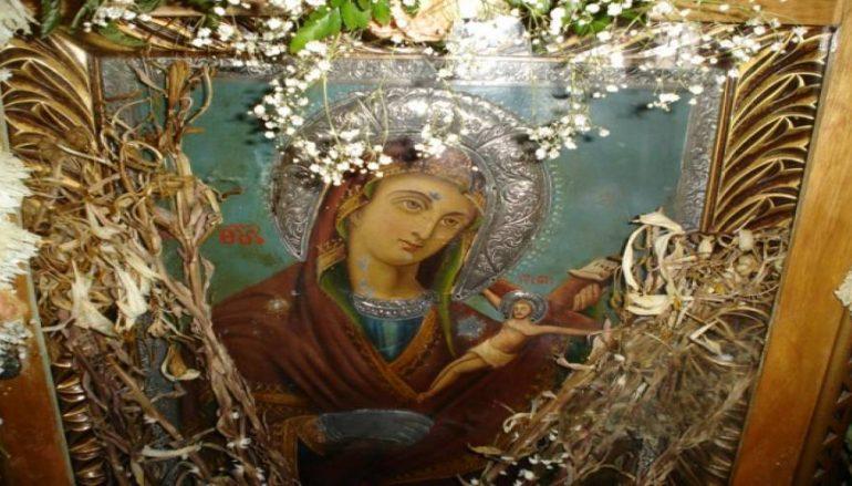 Η μοναδική εικόνα της Παναγίας του Χάρου και το θαύμα που επαναλαμβάνεται