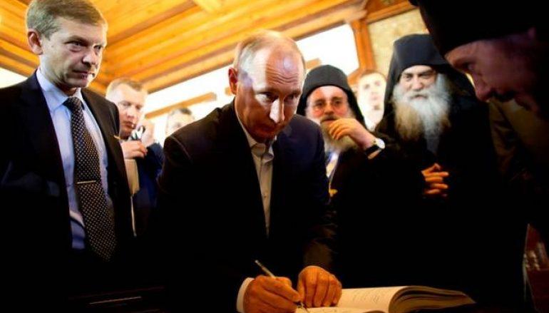 Το μεγάλο μυστικό του Βλ. Πούτιν και η προσευχή του στο Άγιον Όρος