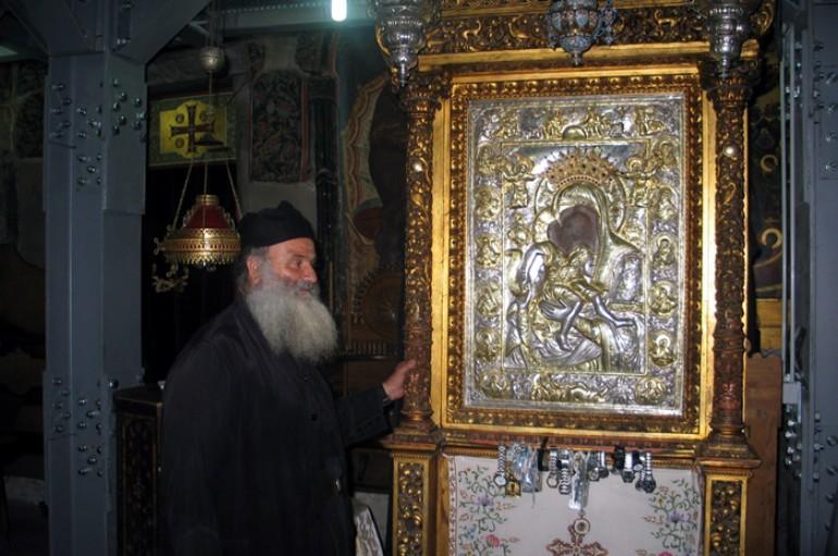 """Η θαυματουργή εικόνα της Παναγίας του """"Άξιον Eστί"""""""