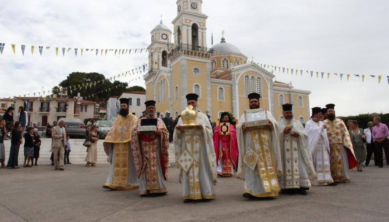 Λαμπρός εορτασμός των Μεσσηνίων Αγίων στην Καλαμάτα (ΦΩΤΟ)