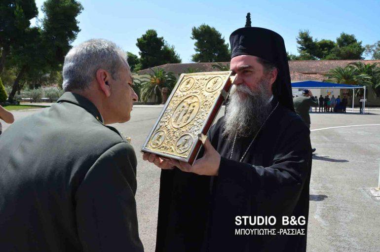 Τελετή παράδοσης παραλαβής του νέου Διοικητή στο Στρατόπεδο ΚΕΜΧ Ναυπλίου (ΦΩΤΟ)