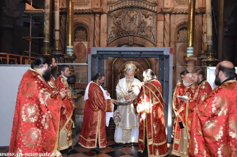 Η εορτή της Πεντηκοστής στο Πατριαρχείο Ιεροσολύμων (ΦΩΤΟ – ΒΙΝΤΕΟ)