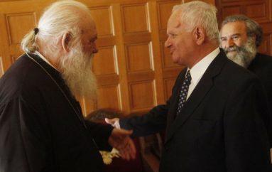 Συνάντηση του Αρχιεπισκόπου με παλιό του μαθητή (ΦΩΤΟ)