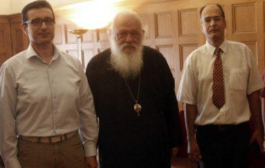 Μέλη του Δ.Σ. της Πανελλήνιας Ένωσης Θεολόγων στον Αρχιεπίσκοπο Ιερώνυμο (ΦΩΤΟ)